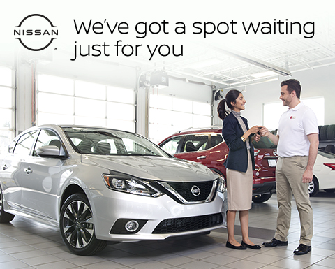 NISSAN(TM) | We've got a spot waiting just for you